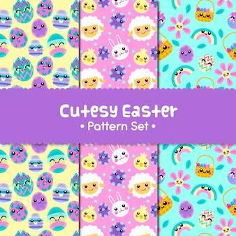 Cutesy easter patterns