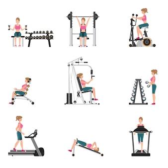 Ćwiczenia cardio i sprzęt fitness