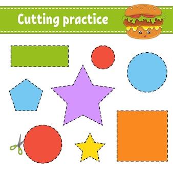 Ćwiczenia cięcia dla dzieci