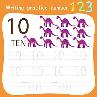 Ćwiczenie ćwiczenie pisania nr 10