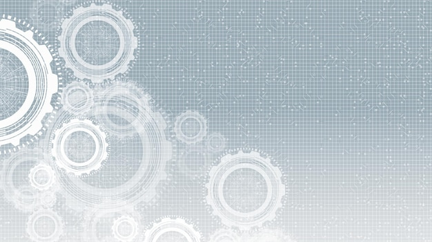 Cyber gears koło i kogut