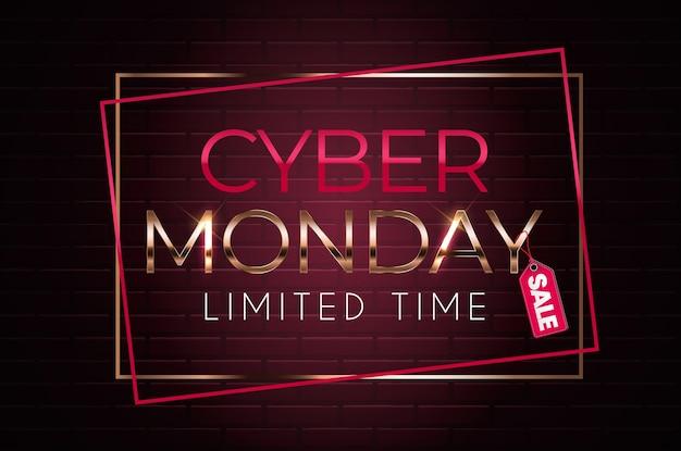 Cyber poniedziałek sprzedaż tło.
