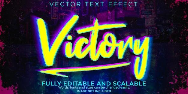 Cyber tekst, edytowalna przyszłość i neonowy styl tekstu