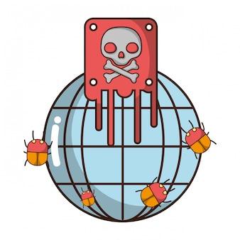 Cyberbezpieczeństwo kreskówka
