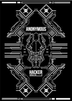 Cyberpunk futurystyczny plakat. szablon retro futurystyczny plakat. szablon plakat streszczenie tech.