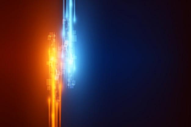 Cyfrowa technologia prędkości projektowania tła eps 10