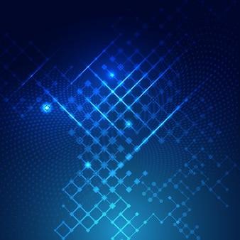 Cyfrowa technologia z abstrakcyjnego tła projektowania obwodów