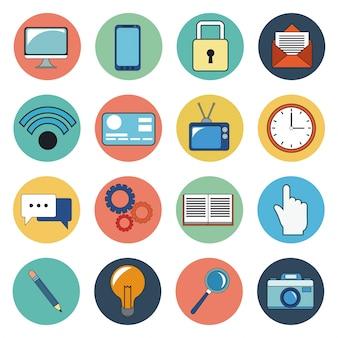 Cyfrowe ikony mediów społecznościowych