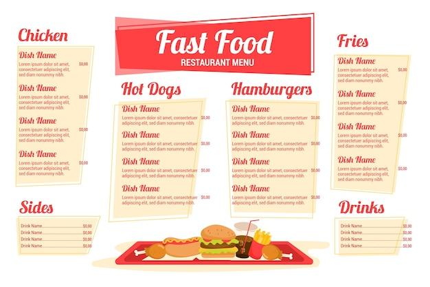 Cyfrowe menu restauracji