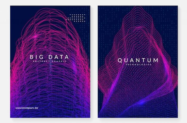 Cyfrowej technologii abstrakta tło. sztuczna inteligencja, głębokie uczenie się i duże zbiory danych.