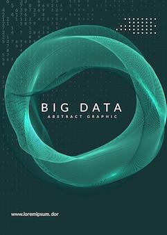 Cyfrowej technologii abstrakta tło. sztuczna inteligencja, głębokie uczenie się i koncepcja dużych zbiorów danych.