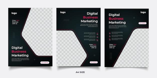 Cyfrowy baner marketingowy firmy