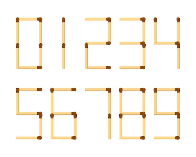 Cyfry arabskie liczby matematyczne