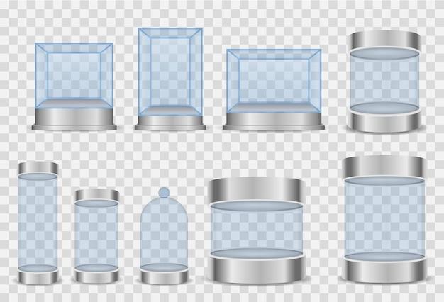 Cylinder szklany