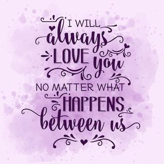 Cytat romantycznej miłości