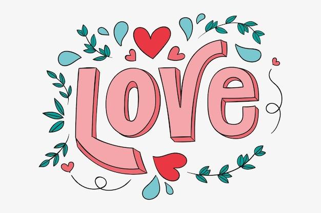 Cytat własny miłość napis