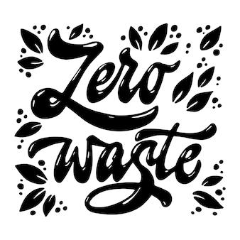 Cytat zero ręcznie odpadów strony