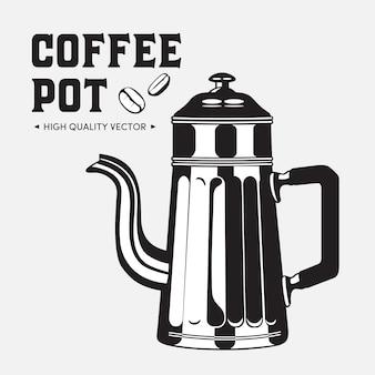 Czajnik vintage dzbanek do kawy