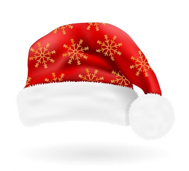 Czapka świąteczna święty mikołaj