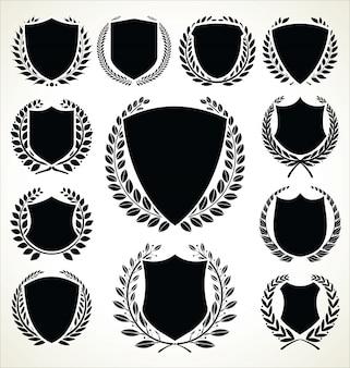 Czarna kolekcja tarczy