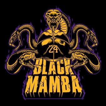 Czarna mamba 24