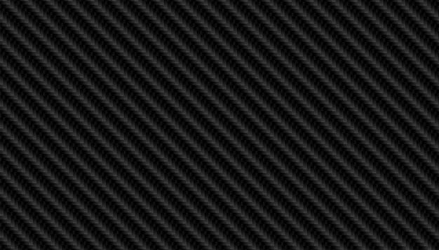 Czarna tekstura wzór włókna węglowego