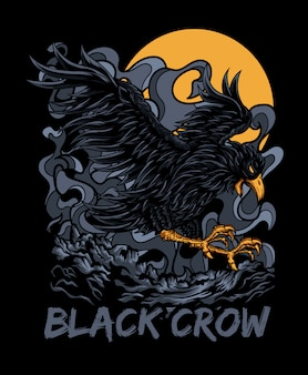 Czarna wrona