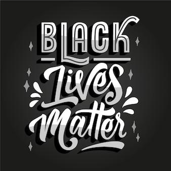 Czarne litery mają znaczenie