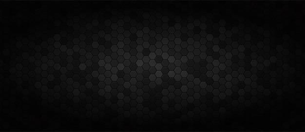 Czarne szerokie tło technologii