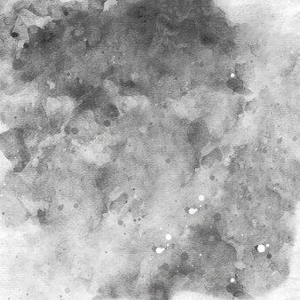 Czarne tło akwarela