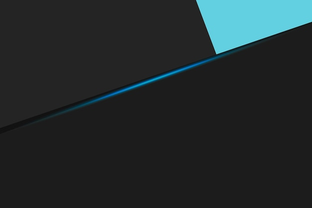Czarne tło biznesowe z niebieskimi smugami