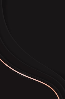 Czarne tło faliste
