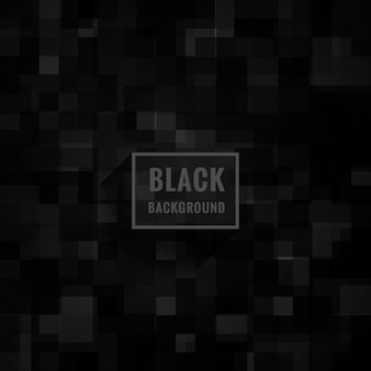 Czarne tło mozaiki