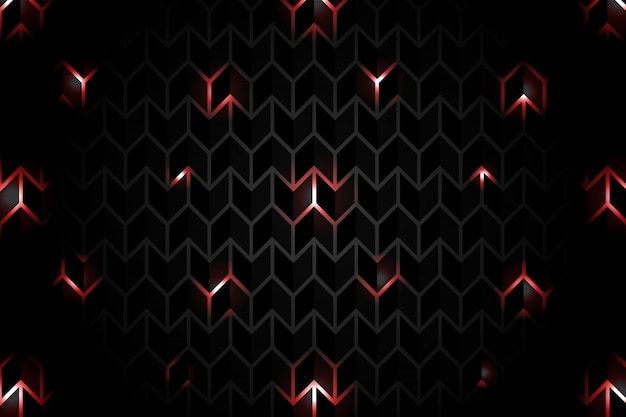 Czarne tło z czerwonego światła wzór