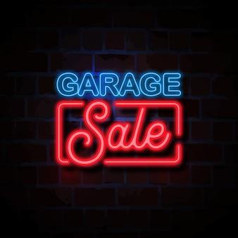 Czarnej piątek sprzedaży stylu neonu znaka ilustracja