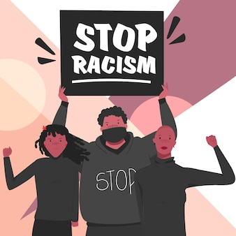 Czarni protestują przeciwko rasizmowi