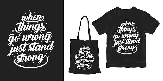 Czarno biała typografia ręcznie rysowane napis inspirujące cytaty