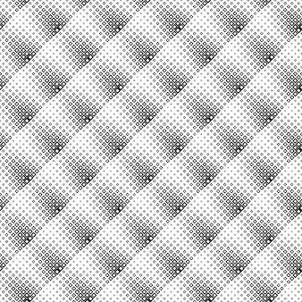 Czarno-białe bez szwu po przekątnej kwadratowy wzór tła