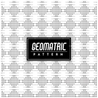 Czarno-biały geomatric bezszwowe tło wzór