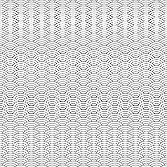 Czarno-biały wzór geometryczny bez szwu