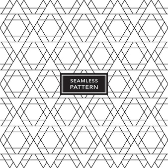 Czarno-biały wzór geometryczny bezszwowe tło. ilustracja wektorowa.