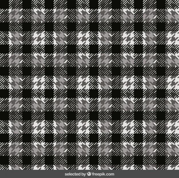 Czarno-biały wzór kratki