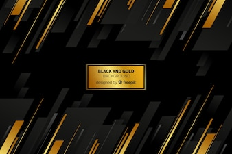Czarno-złote tło