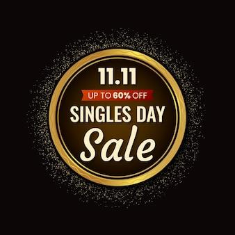 Czarno-złoty dzień singli