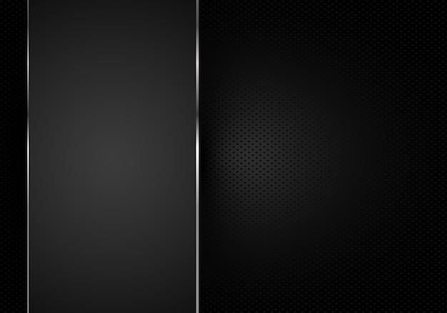 Czarny abstrakcjonistyczny tło wzoru lampasa papier