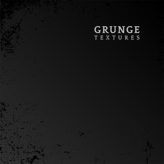 Czarny grunge zakłopotany tekstura wektor