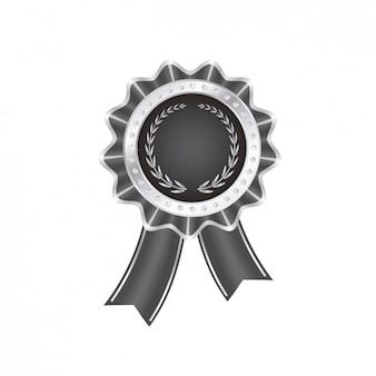 Czarny odznaka jakości