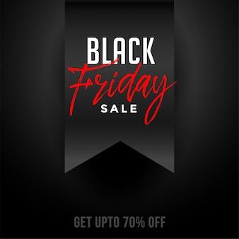Czarny piątek festiwal sprzedaż i oferta tło