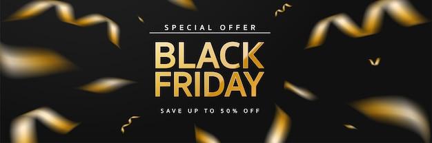 Czarny piątek na sprzedaż na zakupy
