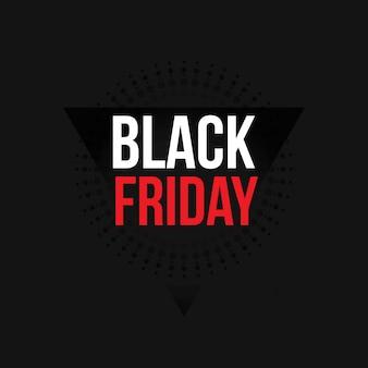 Czarny piątek. nowa prosta typografia na czarnym tle. sztuka abstrakcyjna na tle